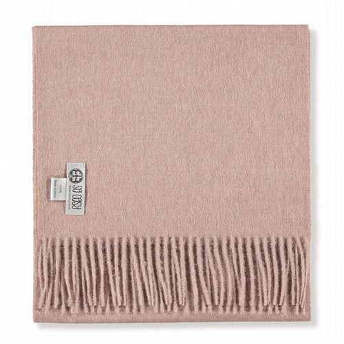 Baby Alpaca Wool - Scarf - Light Rose